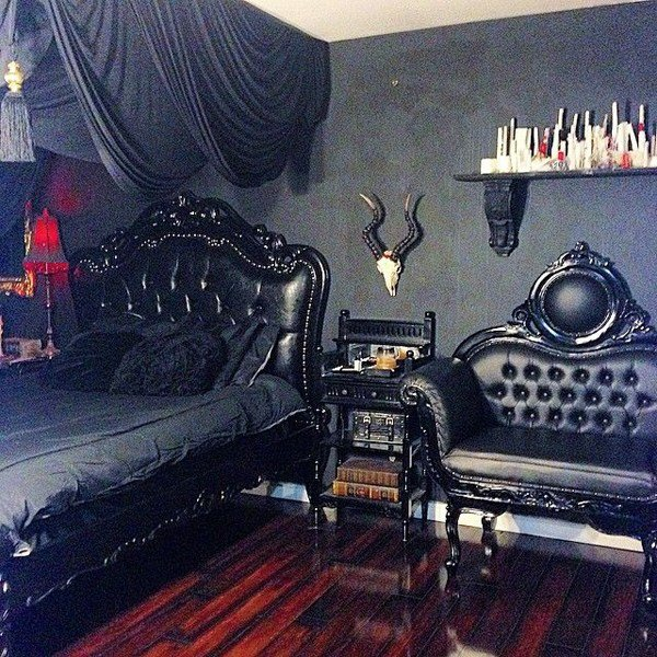 Best 13 Dramatic Gothic Room Design Ideas Home Design And With Pictures