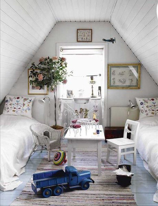 Best Shabby Chic Loft Bedroom Decor Ideas With Pictures