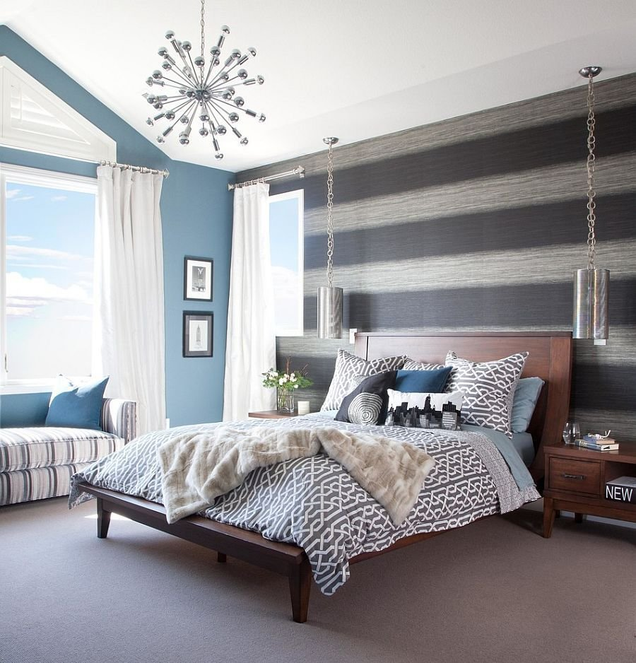 Best Bedroom With Wallpaper Accent Wall That You Must Have With Pictures