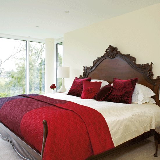 Best Stylish Red And Cream Bedroom Ruby Red Bedroom Ideas With Pictures