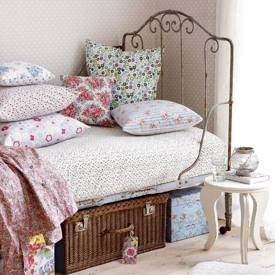 Best Bedroom With Vintage Day Bed Bedroom Designs Floral Bedrooms Housetohome Co Uk With Pictures