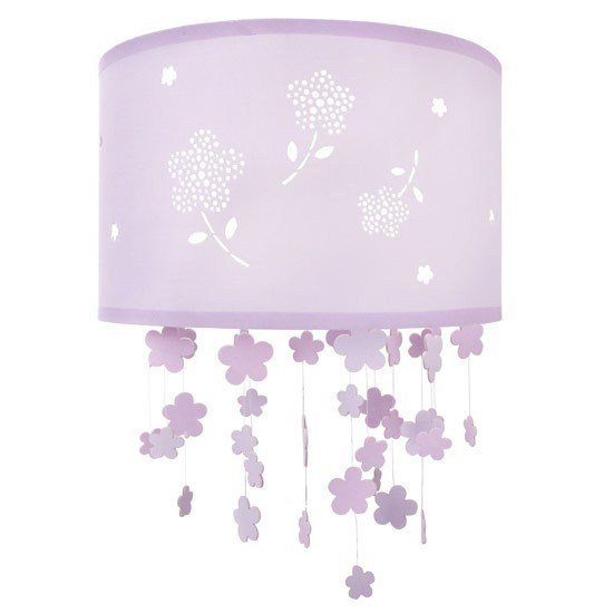 Best Girl S Flower Ceiling Shade Laura Ashley Children S With Pictures