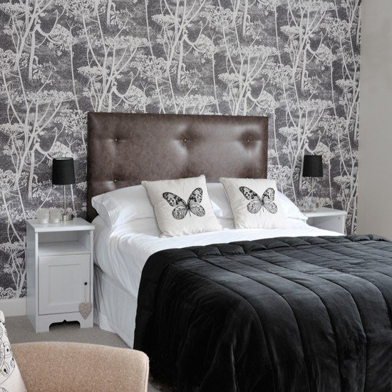 Best Monochrome Motif Bedroom Housetohome Co Uk With Pictures