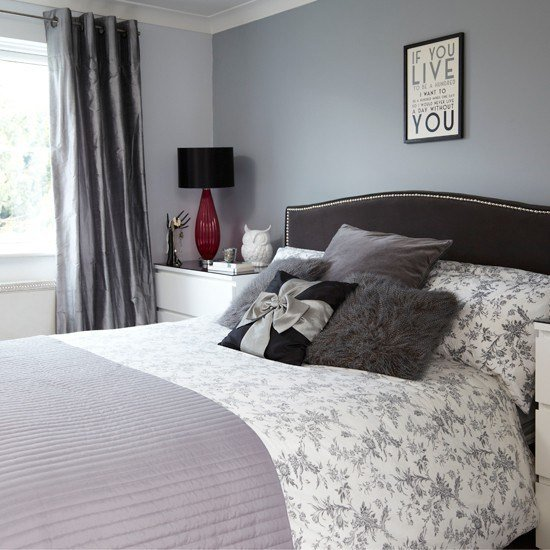 Best Grey And Black Bedroom Bedroom Decorating Housetohome With Pictures
