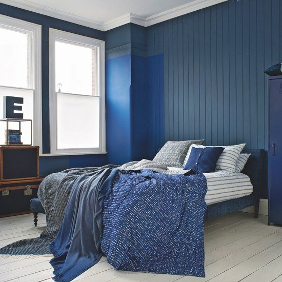 Best Elegant Navy And White Bedroom Bedroom Decorating Ideas Housetohome Co Uk With Pictures