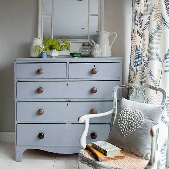 Best Bedroom With Pale Grey Chest Of Drawers Decorating With Pictures