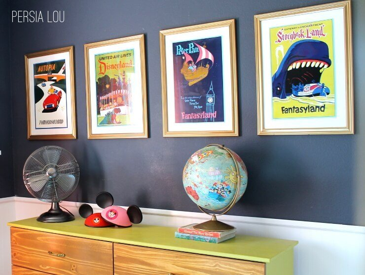 Best Small Shared Boy And Girl S Bedroom Vintage Disneyland With Pictures