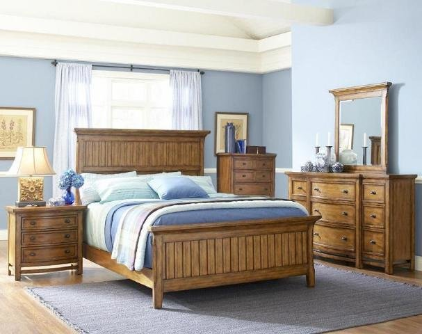Best Broyhill Furniture Landon Park 5 Pc Misson Style Oak With Pictures