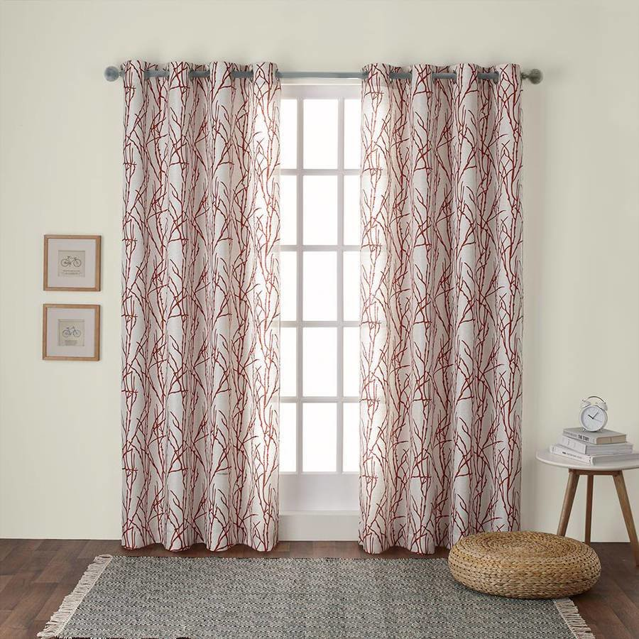 Best Curtains Charming Short Blackout Curtains For Cool Window Decoration — Tenchicha Com With Pictures
