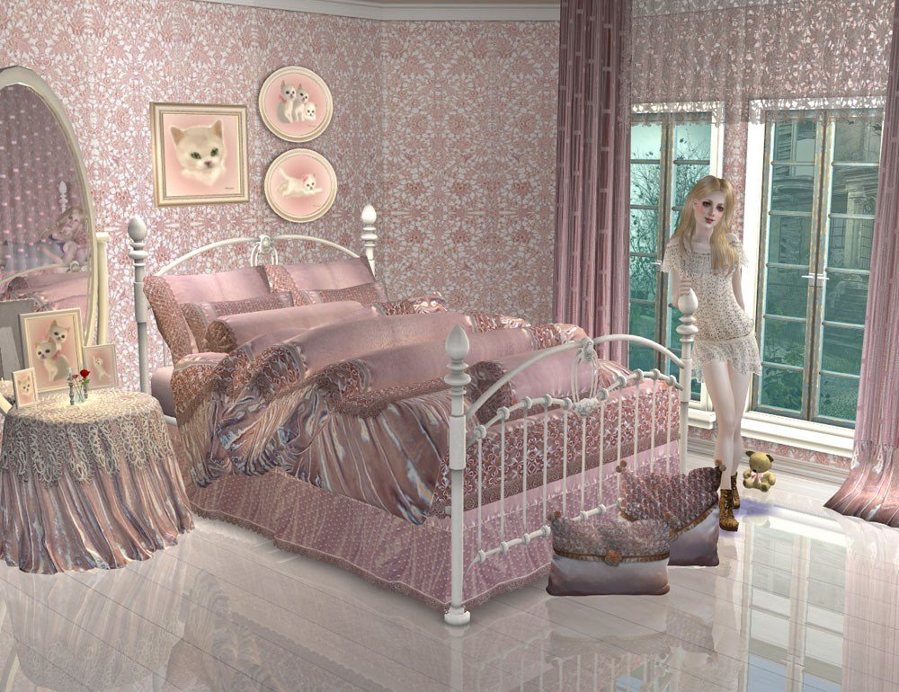 Best Mod The Sims Project Maiden S Bedroom Part 1 With Pictures
