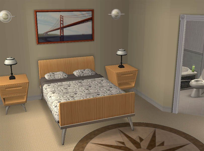 Best Mod The Sims 6X Bedroom Modern Family Home No Cc With Pictures