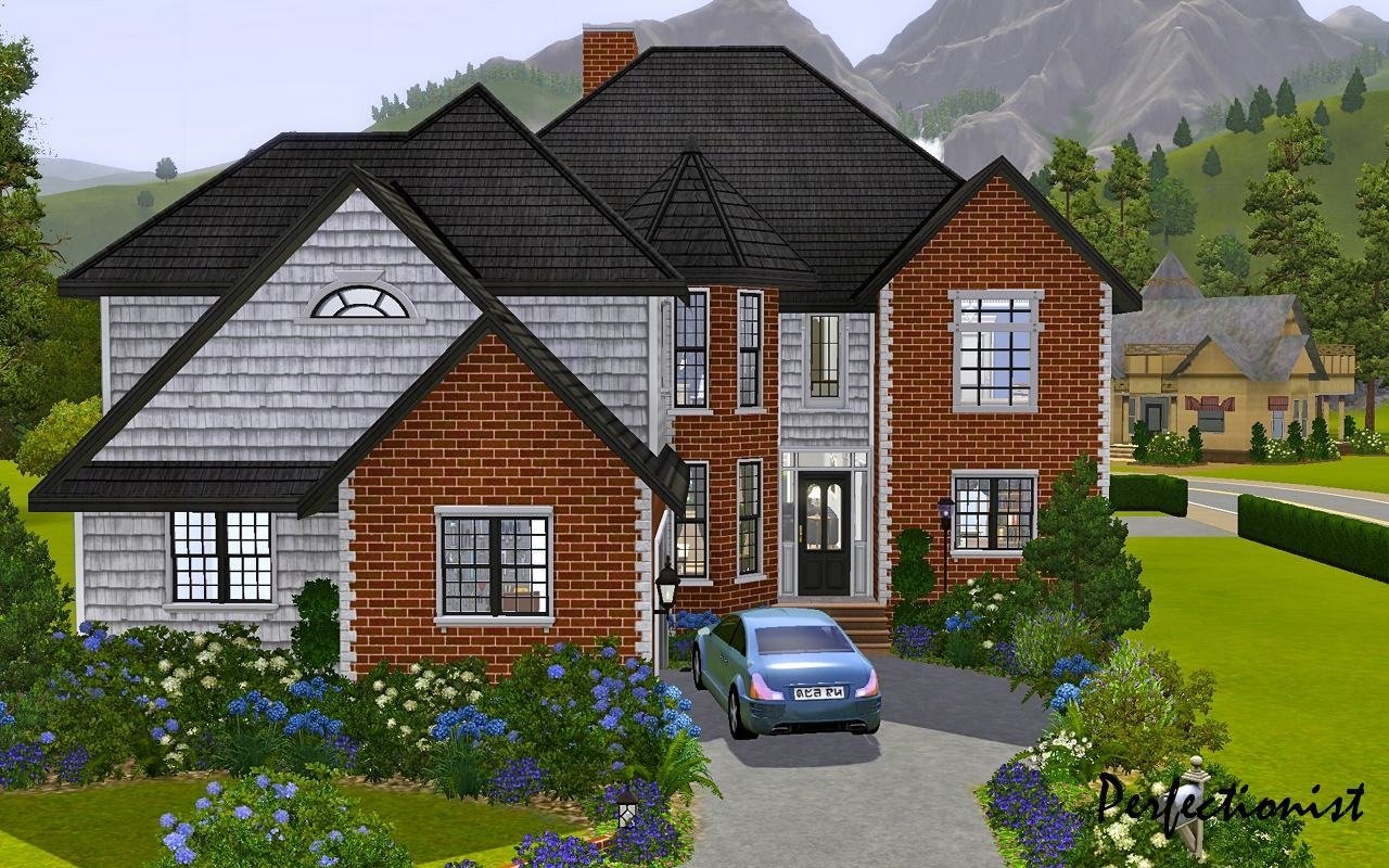 Best Mod The Sims 5 Bedroom European Style House Ts3 Remake No Cc With Pictures