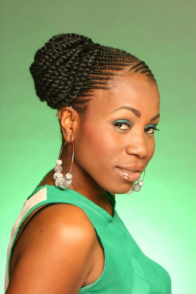 Free African American Braided Hairstyles For Short Hair Wallpaper