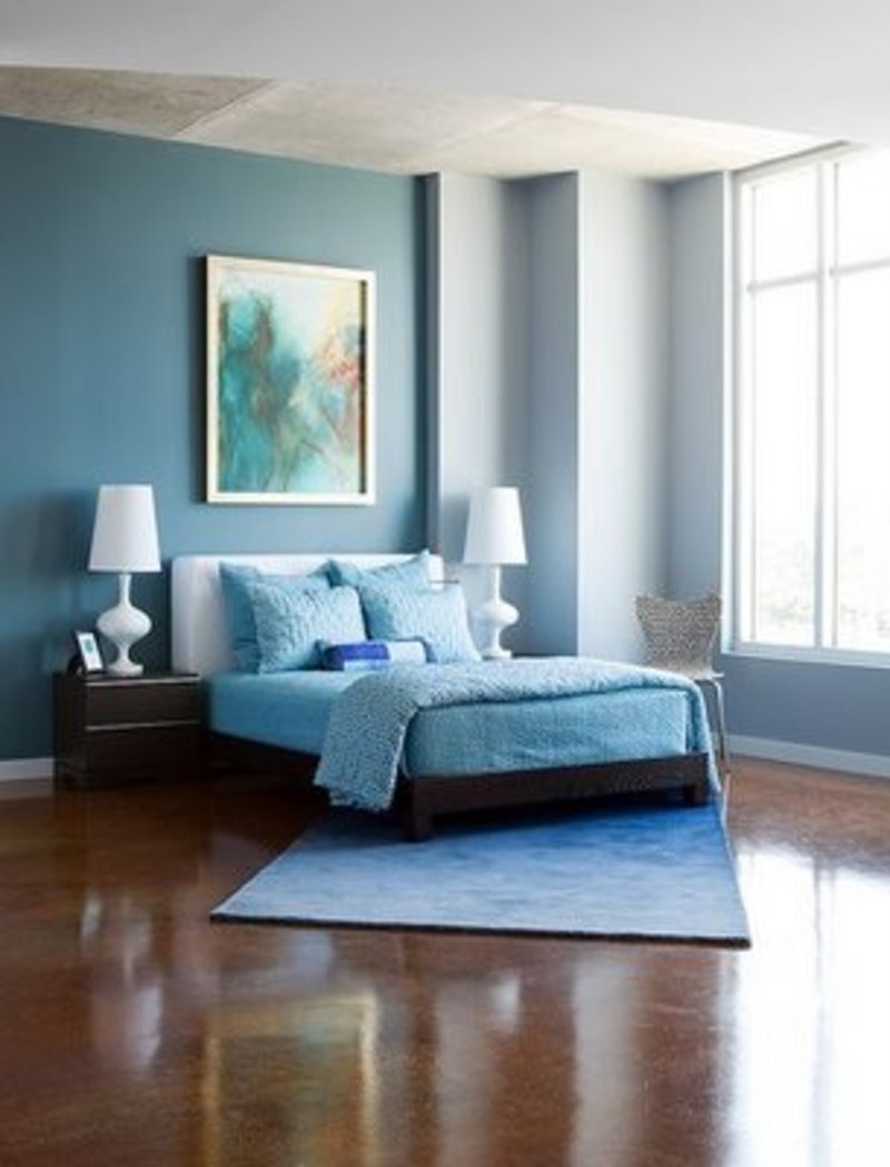 Best Modern Cute Blue And Brown Bedroom Interior Decoration With Pictures