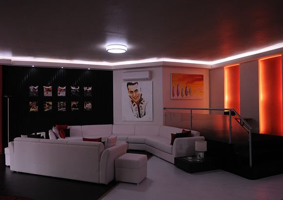 Best Pix Salman Khan S Swanky Bigg Boss Pad Rediff Com Movies With Pictures