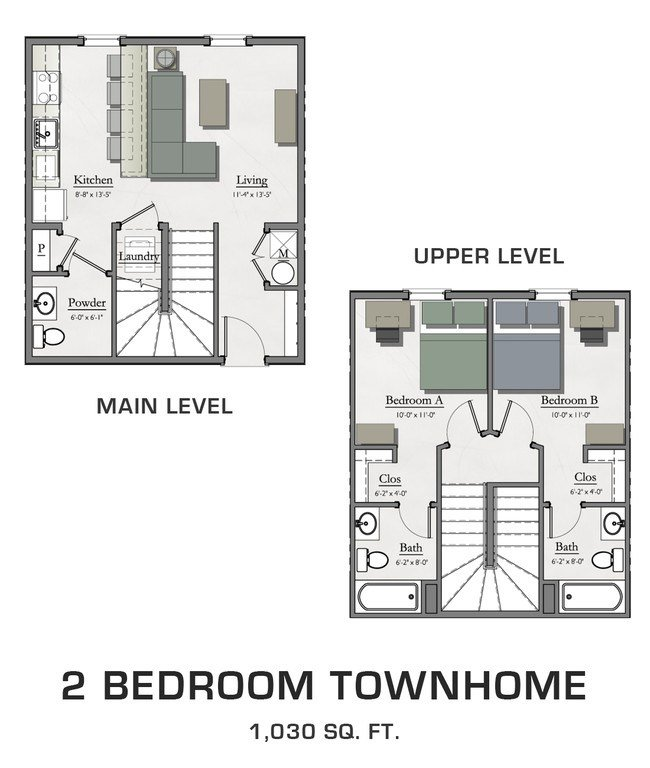 Best Hannah Lofts Townhomes Rentals East Lansing Mi With Pictures