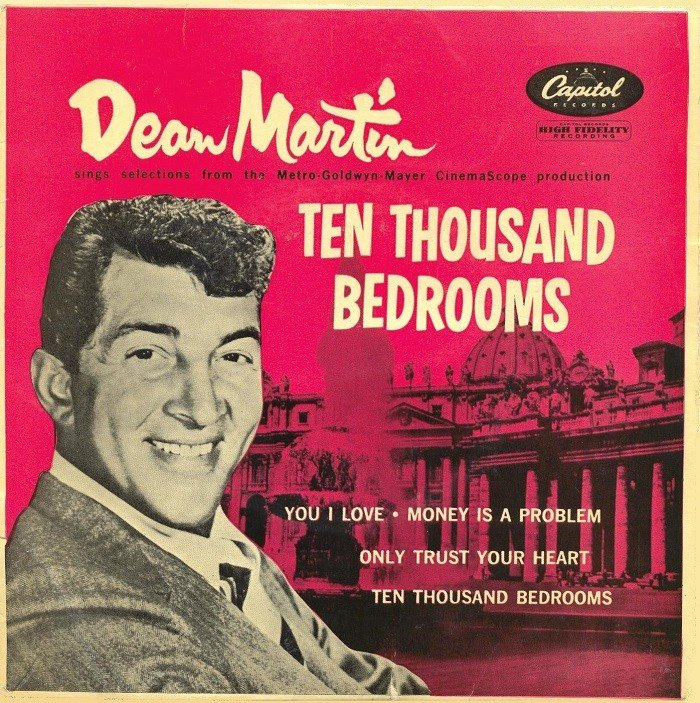 Best 45Cat Dean Martin Ten Thousand Bedrooms Capitol Uk With Pictures