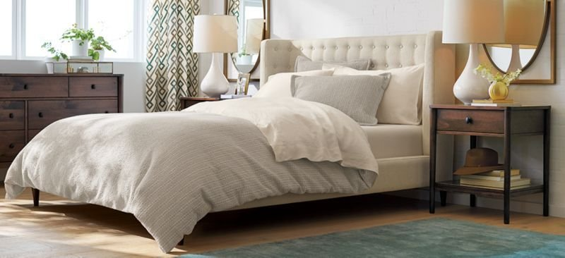Best Romantic Modern Bedroom Gia Crate And Barrel With Pictures
