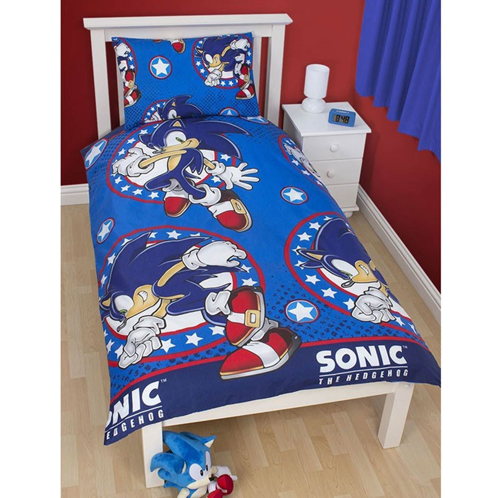 Best Sonic The Hedgehog Bedroom – Single Double Duvet Covers With Pictures