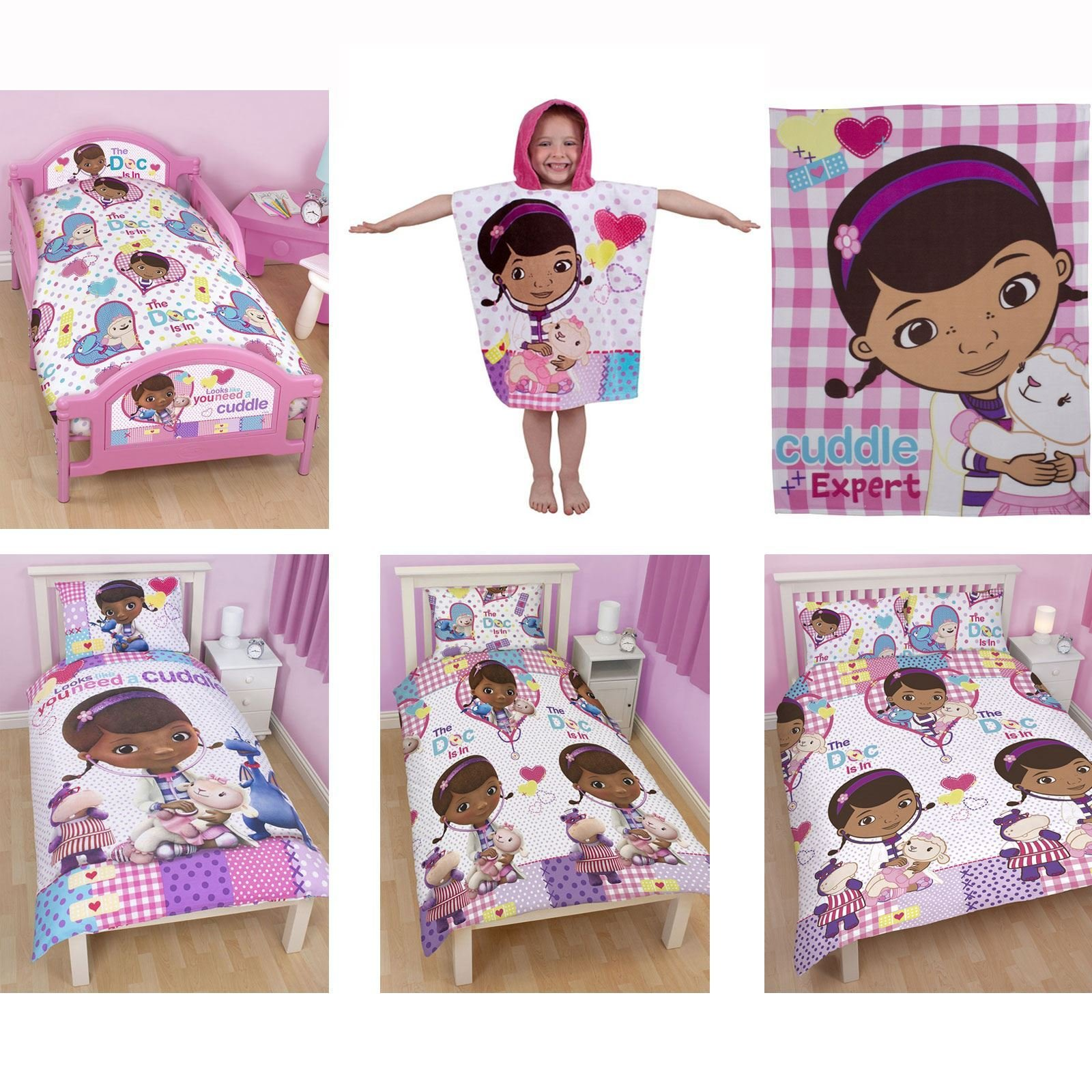 Best Doc Mcstuffins Bedding Single And Double Duvet Cover Sets With Pictures