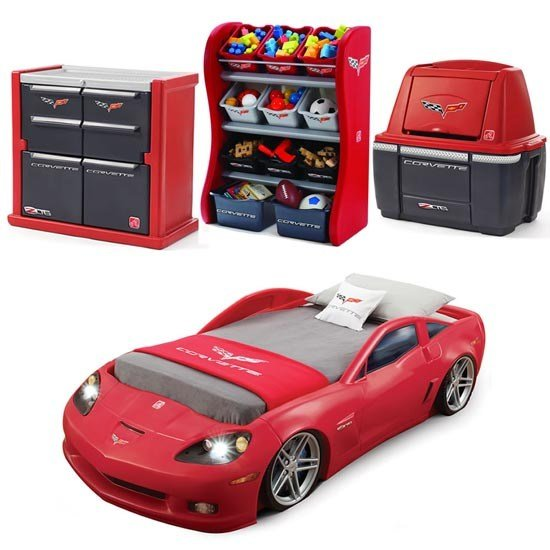 Best Corvette® Bedroom Combo™ Kids Furniture By Step2 With Pictures