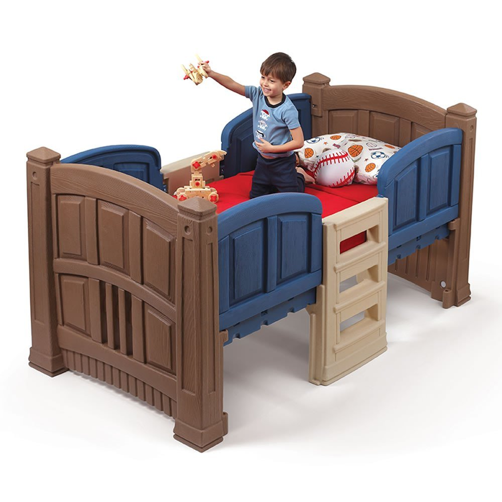 Best Boy S Loft Storage Twin Bed Kids Bed Step2 With Pictures