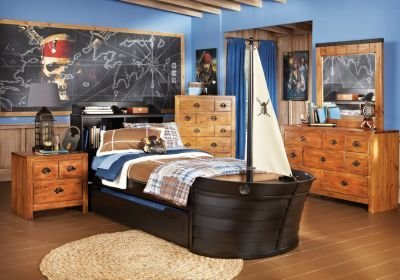Best Disney Pirates Twin Pine 5Pc Novelty Bedroom Disney Bedroom Sets With Pictures