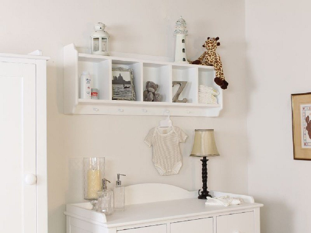 Best Nutkin Childrens White Painted Bedroom Furniture Wall With Pictures