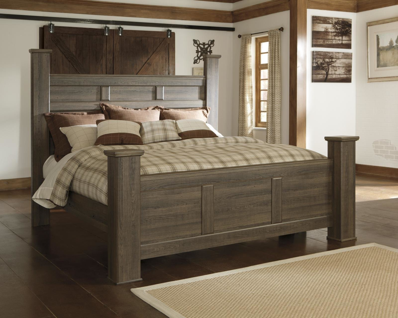 Best Ashley Juararo B251 King Size Poster Bedroom Set 2 Night With Pictures