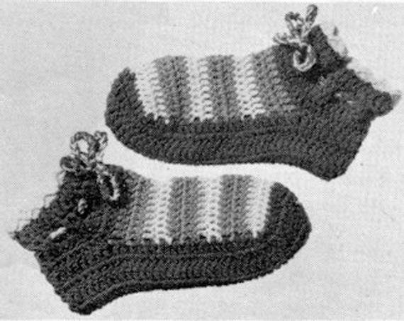 Best Bedroom Slippers Crochet Pattern By Thegemreaper On Etsy With Pictures