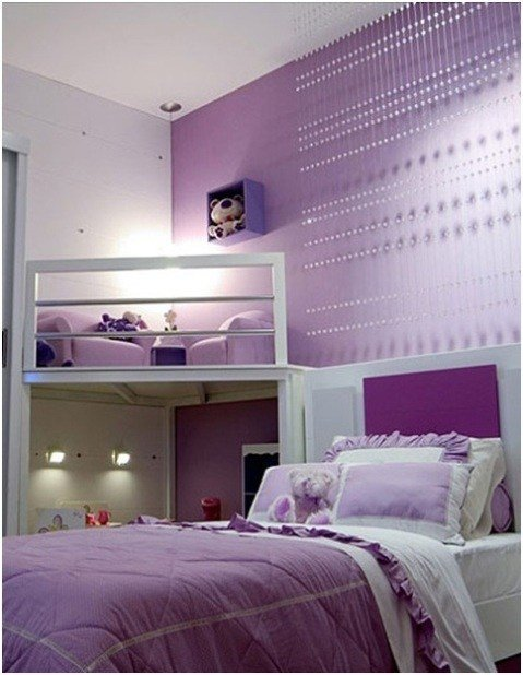 Best Girls Purple Bedroom Decorating Ideas Interior Design With Pictures