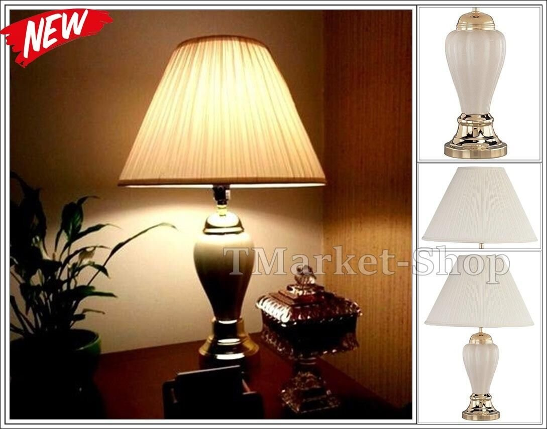 Best Traditional Table Lamp Bedroom Side Lighting Light Home With Pictures