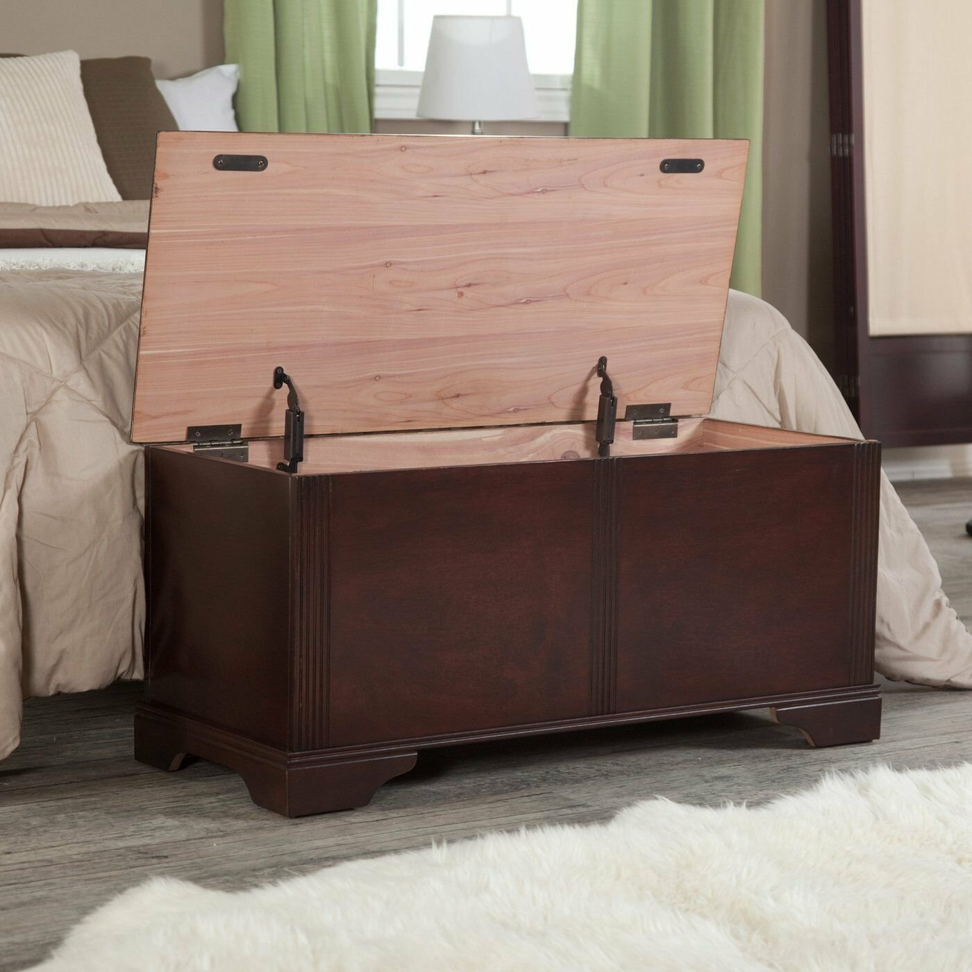 Best Wood Storage Bench Entryway Modern Accent Hallway Foyer Organizer Bedroom Chest With Pictures