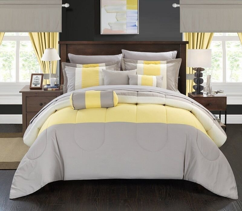 Best 20 Piece Comforter Set Bed In A Bag Queen Size Bed Bedding With Pictures