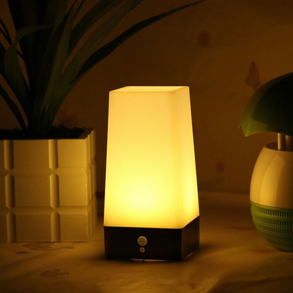 Best Wireless Motion Sensor Bedroom Night Light Battery Powered With Pictures