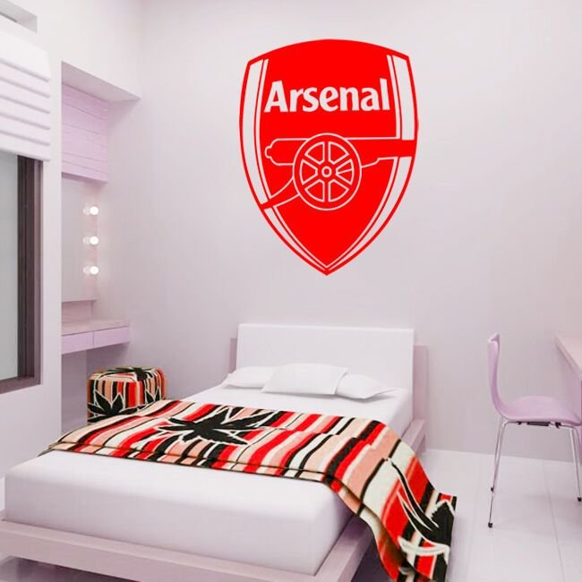 Best Arsenal Badge Wall Decal Art Sticker Football Sport With Pictures