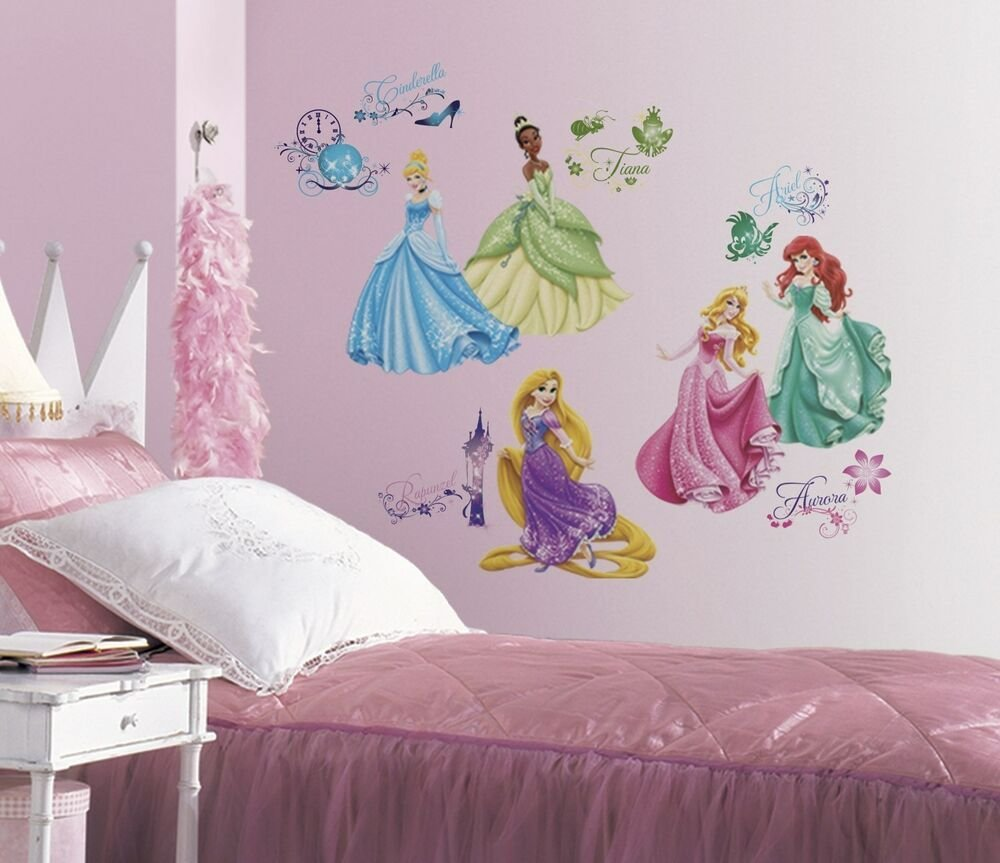 Best Disney Princess Wall Decals New Princesses Royal Debut With Pictures