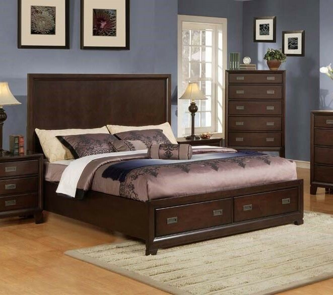 Best Master Bedroom Furniture King Queen Size Bed 4Pc Bedroom With Pictures