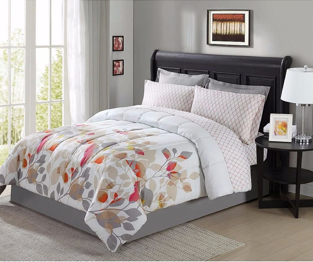Best King Size Bedding Set Comforter Floral Stylish Sheets Bed With Pictures