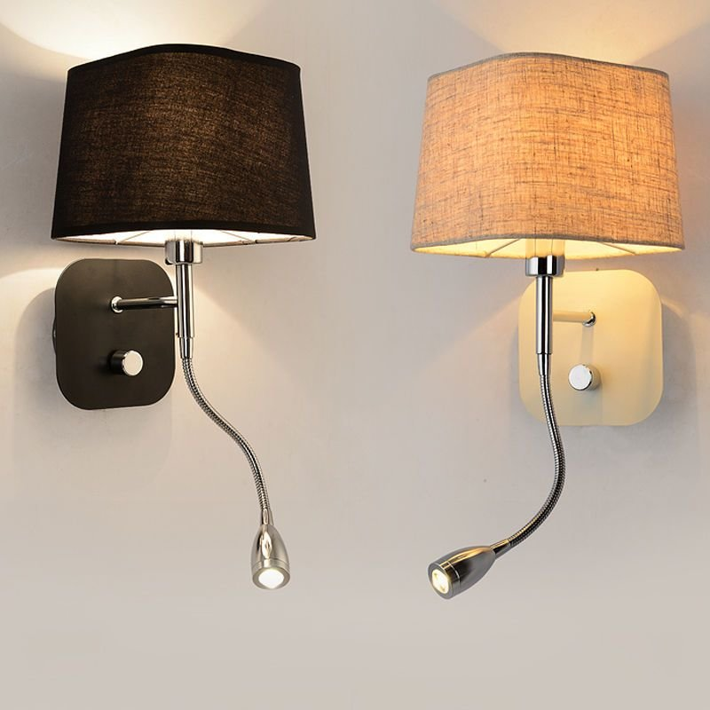Best Wall Sconce Band Switch Modern Led Reading Wall Light With Pictures