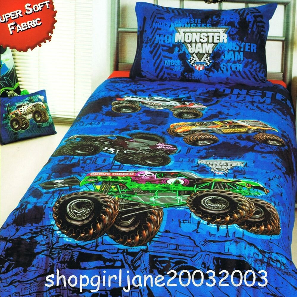 Best Monster Jam Truck Mash Grave Digger Single Twin Bed Quilt With Pictures