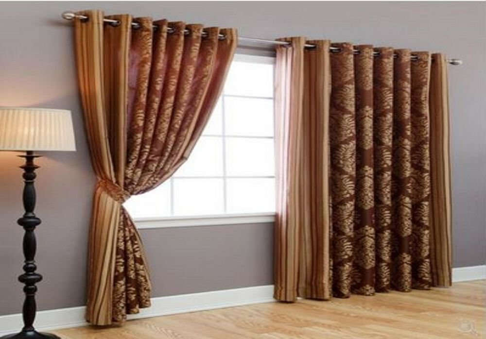 Best Wide Width Bedroom Livingroom Patio Window Treatments Grommet Curtains Drapes Ebay With Pictures