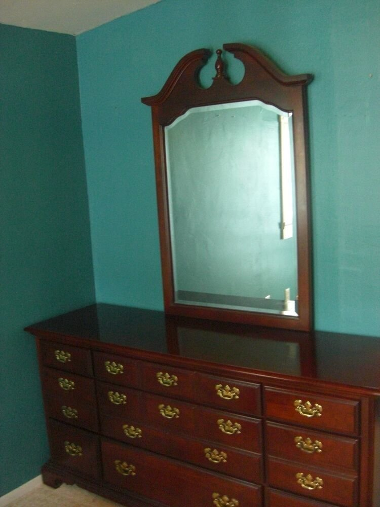 Best 6 Piece Queen Anne Style Bedroom Furniture Ebay With Pictures