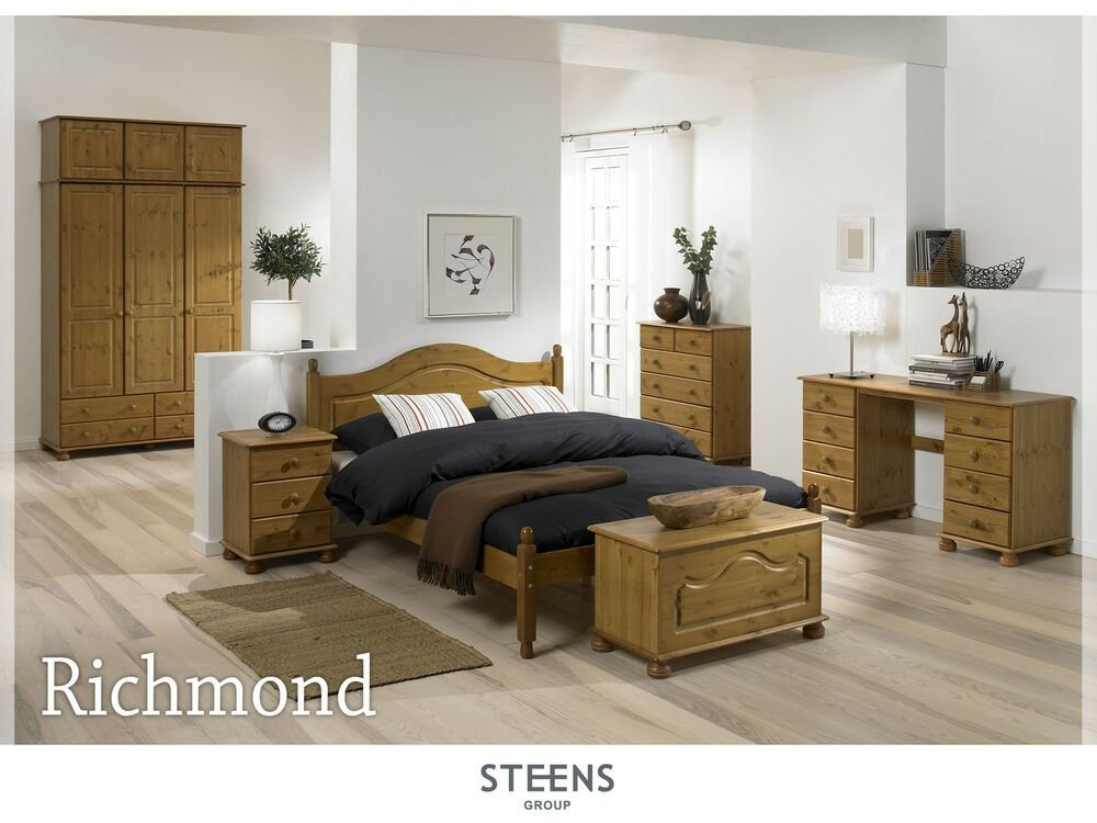 Best Richmond Pine Bedroom Furniture Wardrobes Chest Of With Pictures