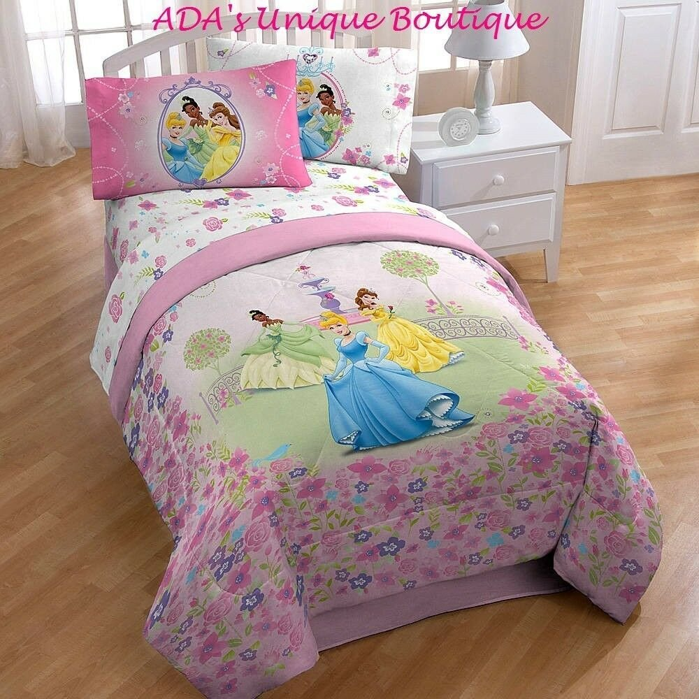 Best Disney Princess Twin Microfiber Super Soft Comforter Belle With Pictures