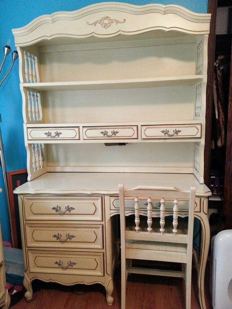 Best Henry Link Vintage 7 Pieces 1975 French Provincial Hollywood Girls Bedroom Set Ebay With Pictures
