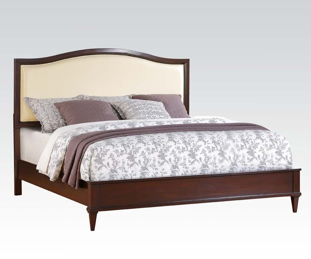 Best Raleigh Cherry Finish 1 Piece Queen Cal King Est King Size With Pictures