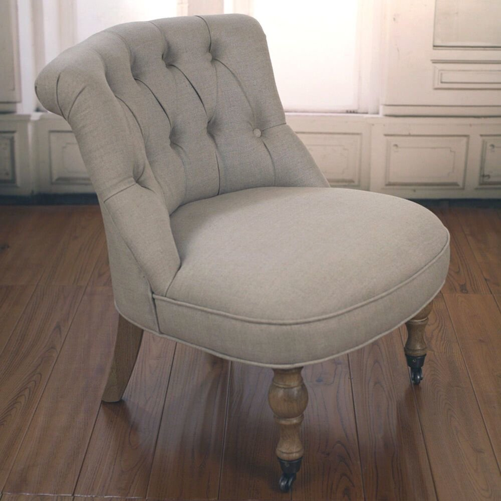 Best Bedroom Chair Upholstered Linen French Provincial Usa Oak Chair Brand New Ebay With Pictures