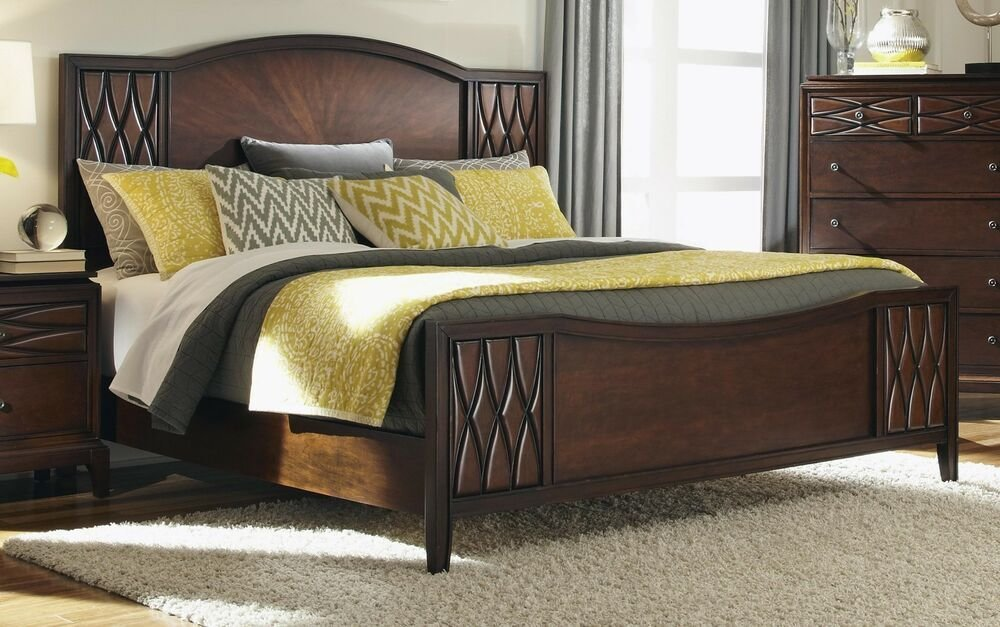 Best Art Deco Style Diamond Quilted King Bed Bedroom With Pictures