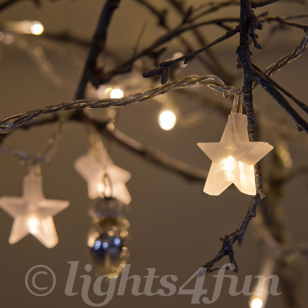 Best Star Fairy Lights 30 Warm White Led Indoor Bedroom With Pictures